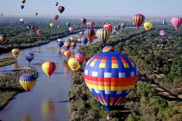 Balloons in Albuquerque