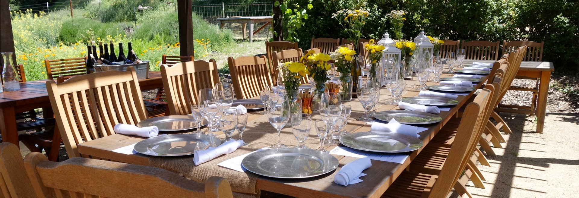 Food and wine pairing at Wente Vineyards in Livermore Valley Wine Country