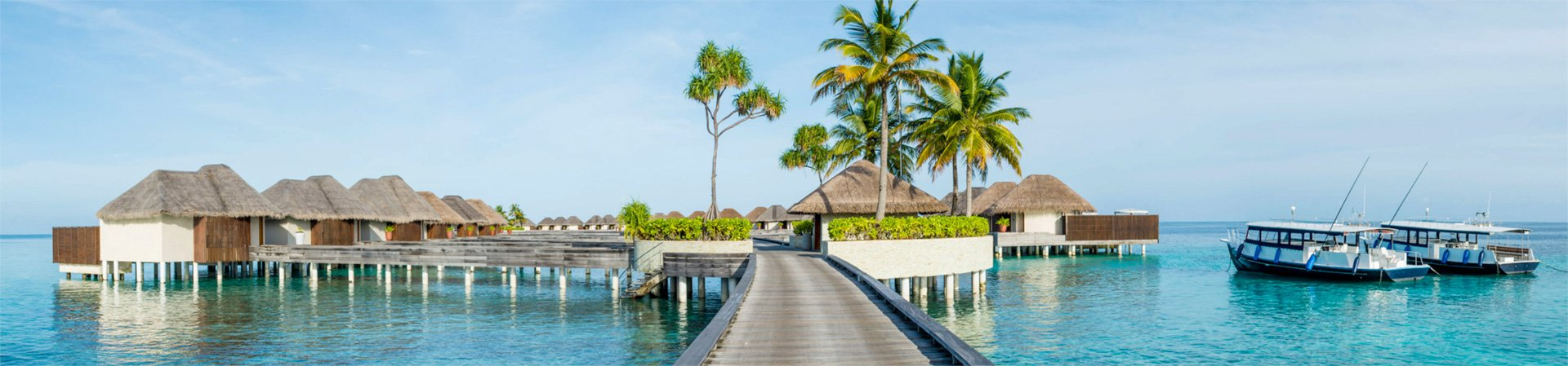 Panorama of Maldives