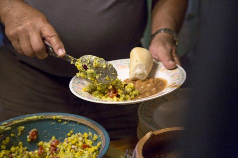 Native food at Ohkay Owingeh Santa Fe
