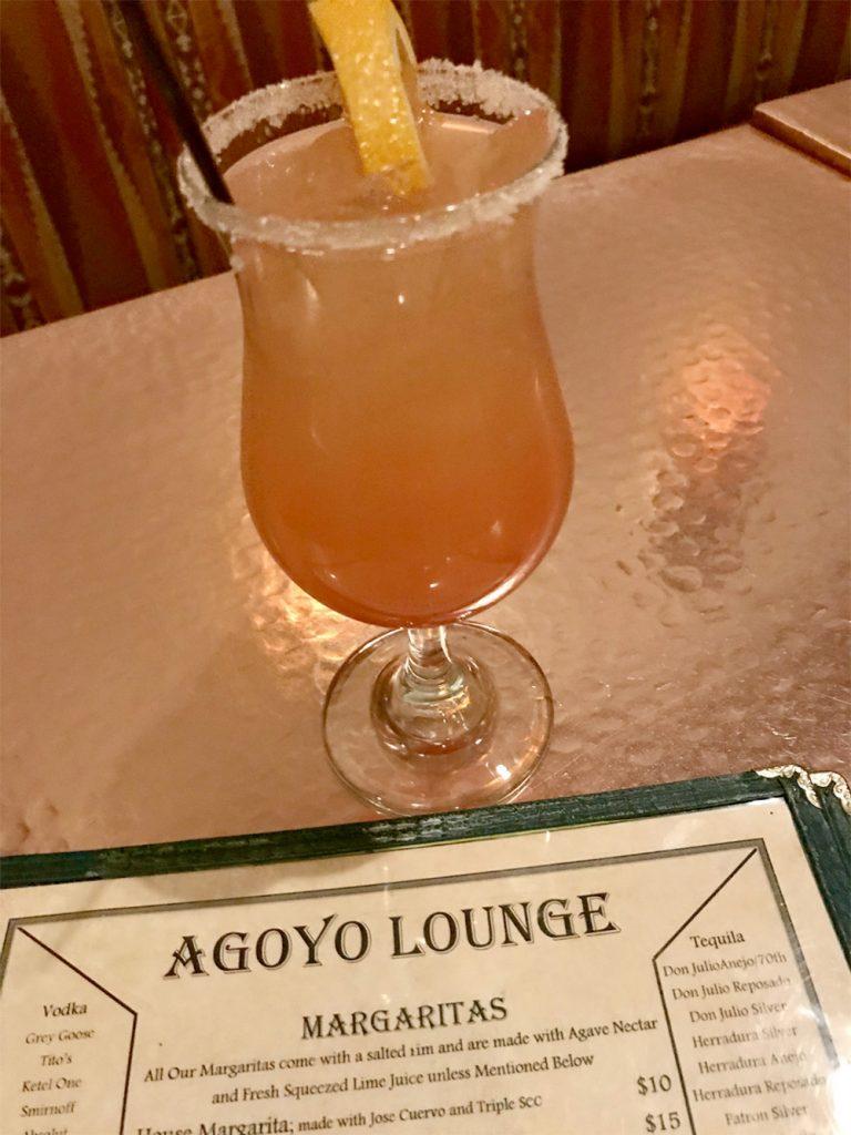 Agoyo Lounge on the Santa Fe Margarita Trail