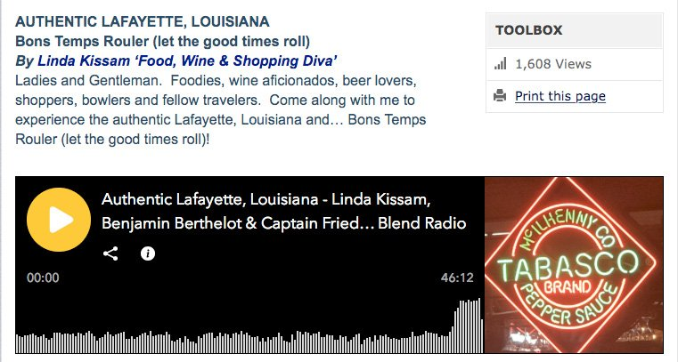 Lafayette Podcast from the IFWTWA