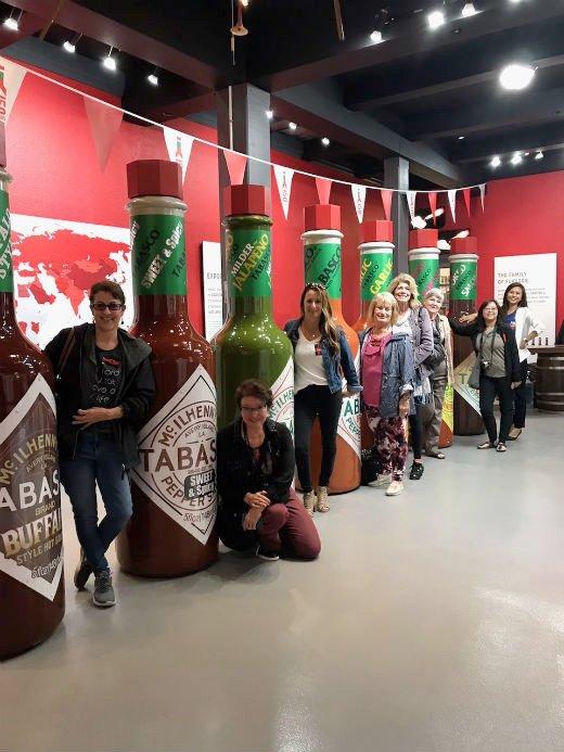 IFWTWA Members at the Tabasco Museum