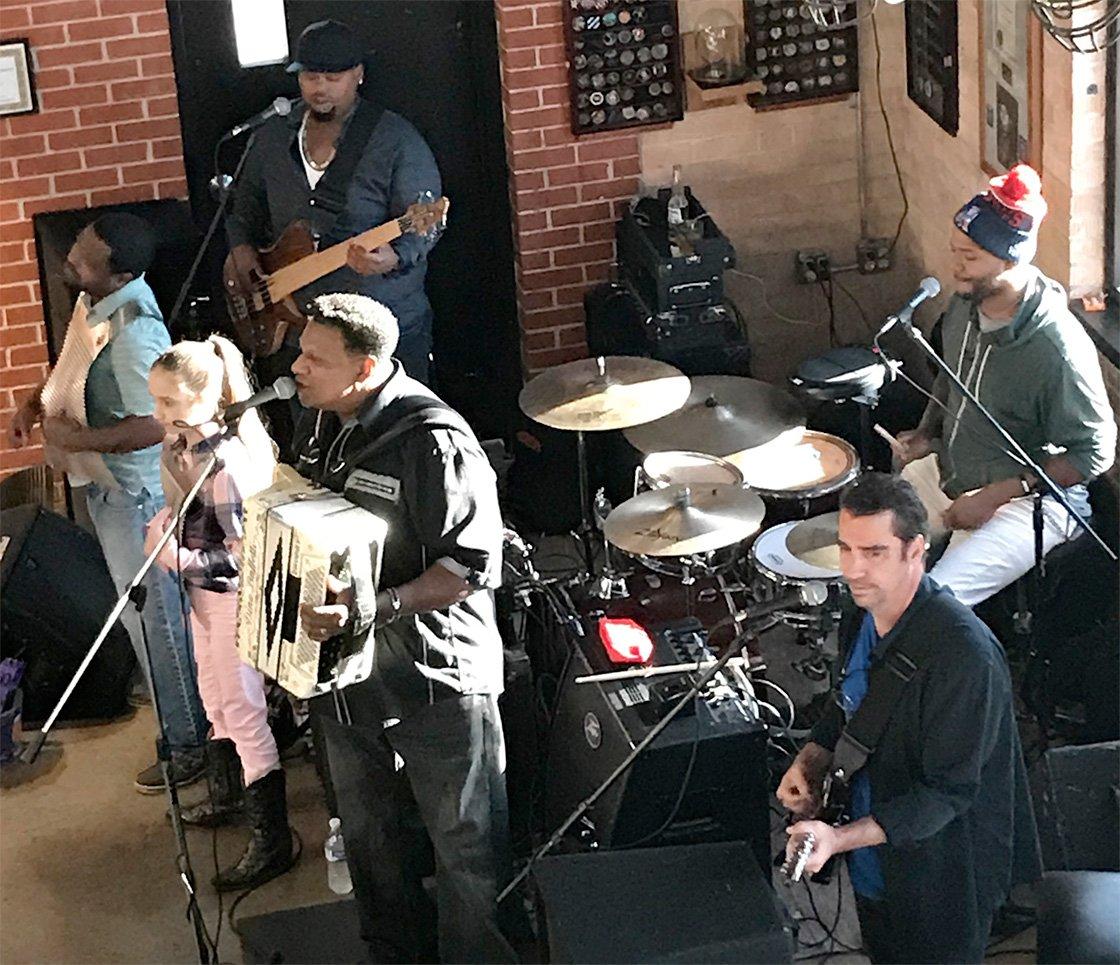 Zydeco Band, Lafayette, Louisiana Image by Linda Milks