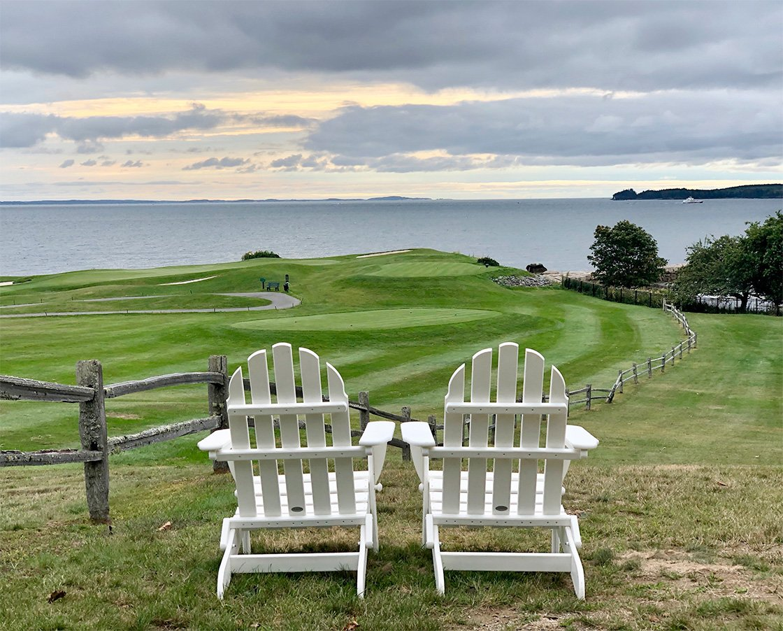 Relaxation & Golf with a View, Samoset Resort, Rockport, Maine Image by Mary Noe