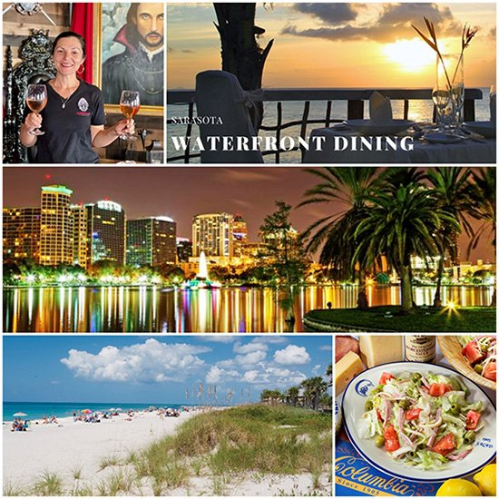 Sarasota Waterfront Dining as part of the 2021 IFWTWA Conference