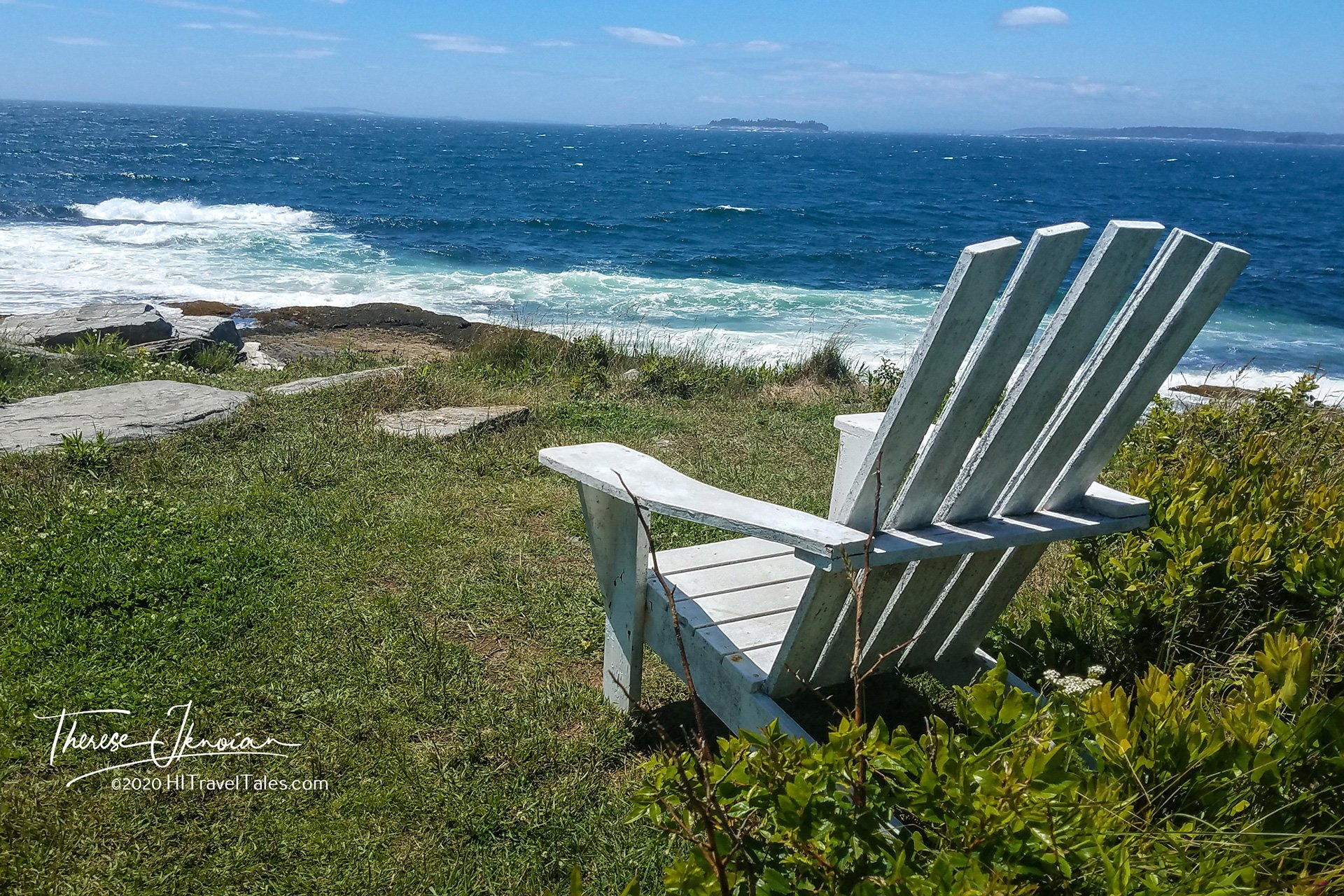 Sighworthy views in MidCoast Maine by Therese Iknoian